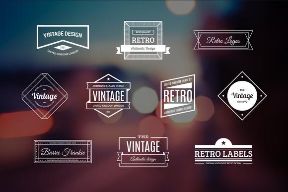 10 Retro Logos Vol 11
