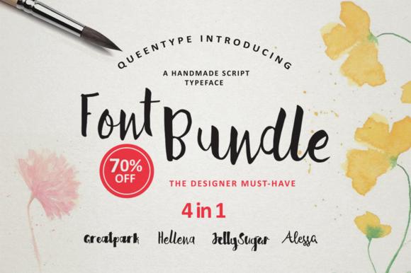 Handmade Font Bundle %70 OFF