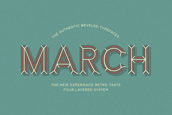March Typefaces