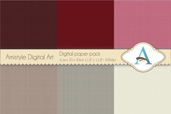 Linen-Bordeaux Grey-Digital Papers
