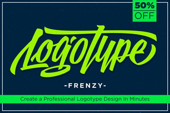 Logotype Frenzy 50% Off
