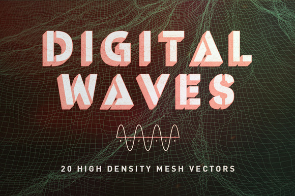 VECTOR PNG DIGITAL WAVES