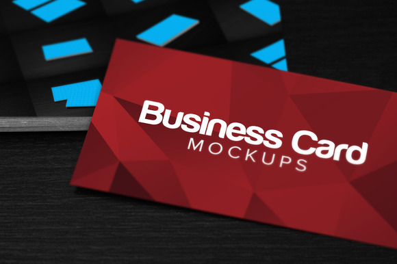 11 Business Card Mockups