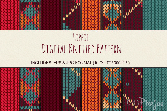 8 Seamless Knitted Sweater Pattern