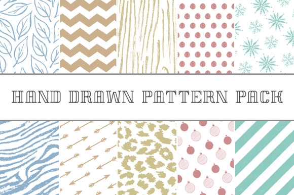 Hand-Drawn Pattern Pack
