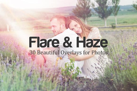 Flare Haze 30 Overlays For Photos