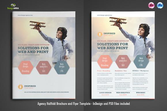Agency Brochure Flyer
