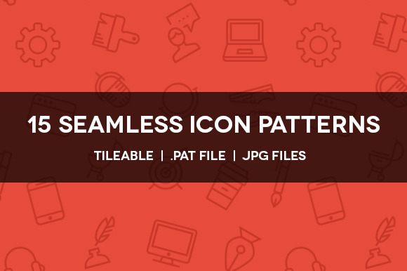 15 Seamless Icon Patterns
