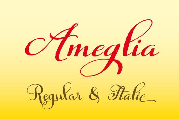 Ameglia Family Regular Italic