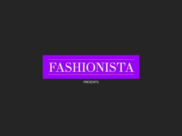 Fashionista Show PowerPoint