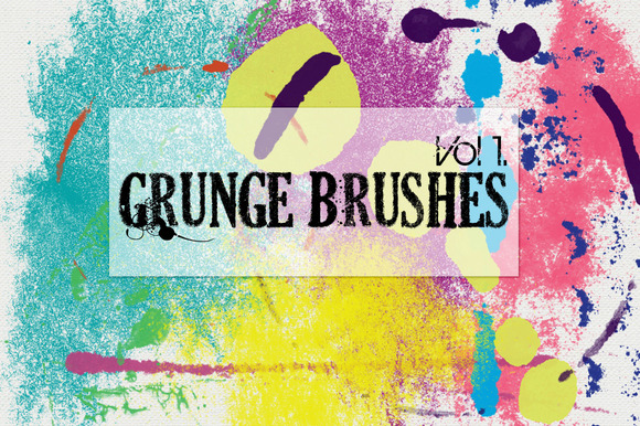 Grunge Brushes Vol 1