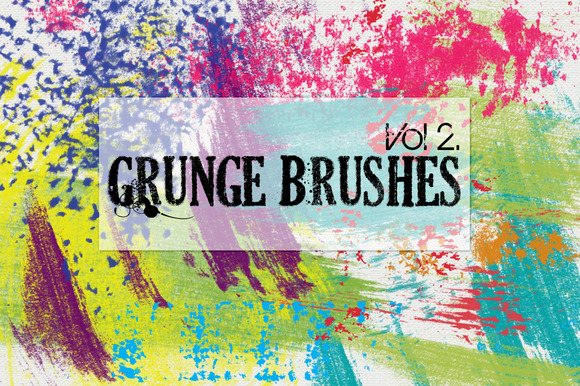 Grunge Brushes Vol 2