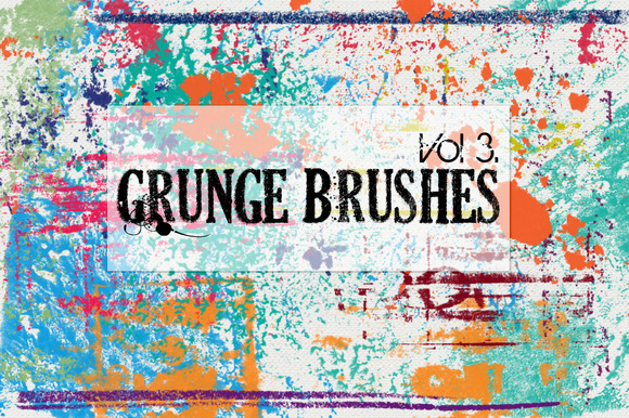 Grunge Brushes Vol 3