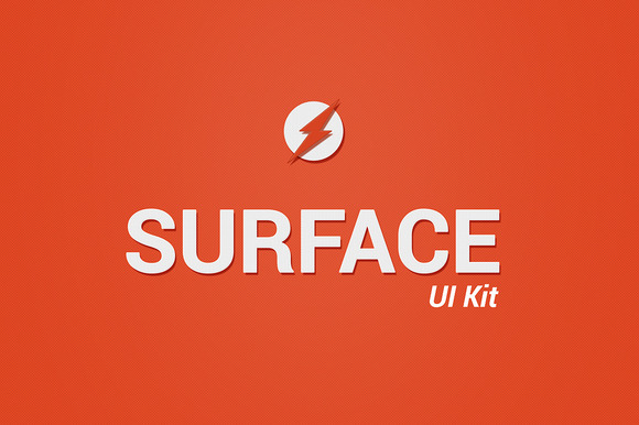 Surface UI Kit Web App Interface