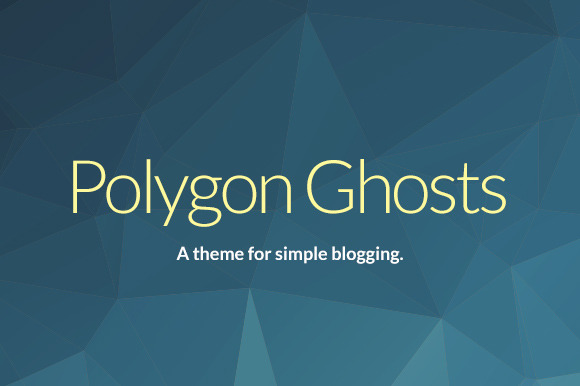 Poly Simple Responsive Ghost Theme