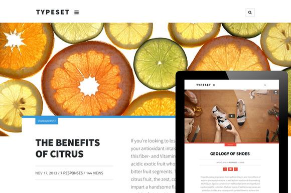 Typeset A Magazine Blog Portfolio
