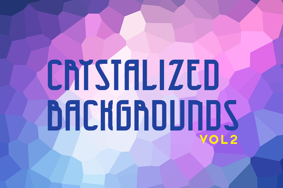 Crystalized Backgrounds Volume 2