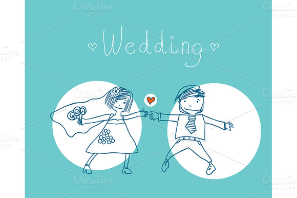 Cheerful Wedding
