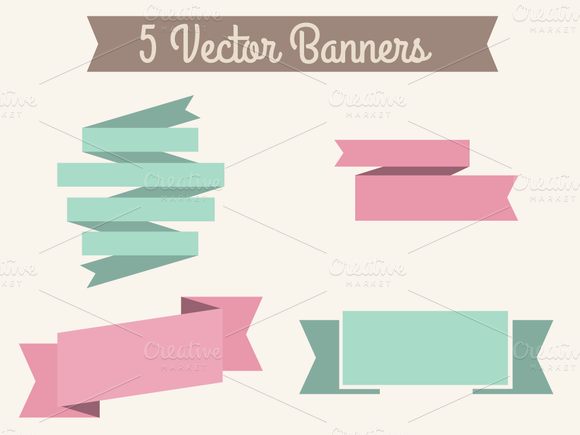 Vector Banners