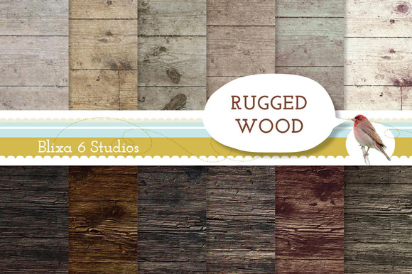 Rugged Wood Textures