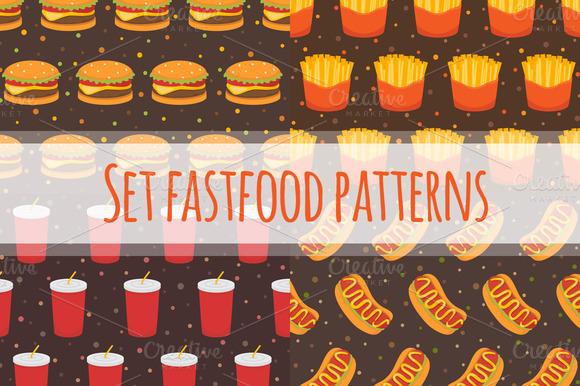 Set Fastfood Patterns