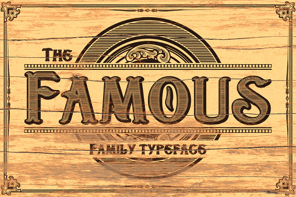 TheFamous Typeface