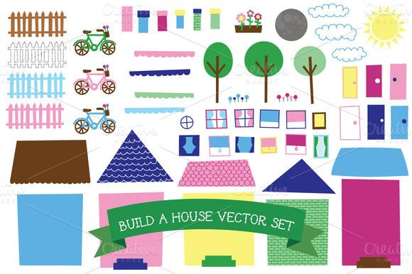 Build A House Vector Set