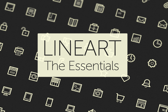 Lineart Icons The Essentials