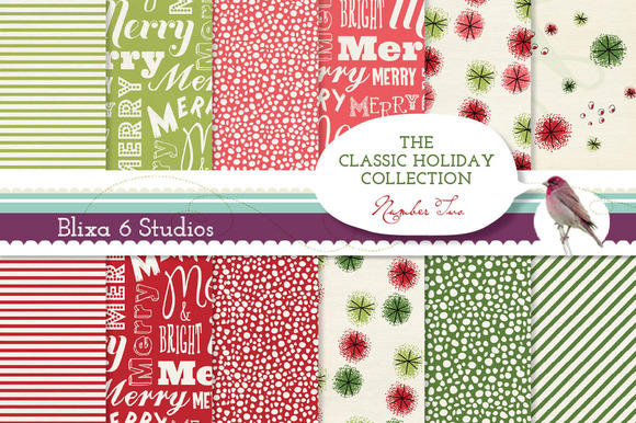 Merry Bright Holiday Papers