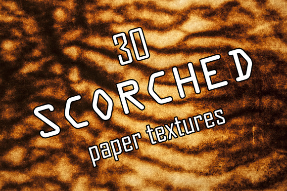 30 Scorched Paper Textures