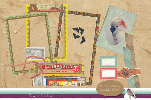 Havana Collection Digital Clip Art