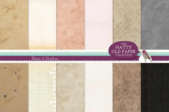 Worn Paper Texures Sample Pack