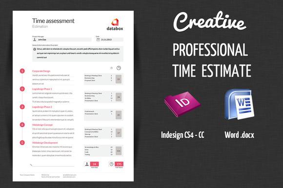 Professional Time Estimate