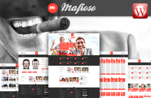 Mafioso Wordpress Responsive Theme
