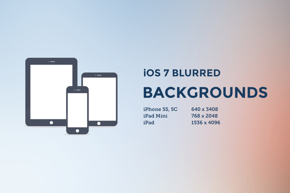 IOS 7 Blurred Backgrounds