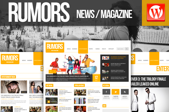 Rumors News Magazine Wordpress
