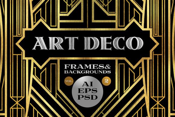 10 Frames Vol.2 Art Deco Style
