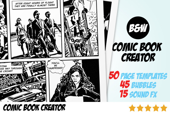 Comic Book Creator Photo To Comic-