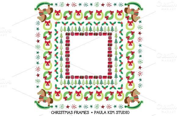 Festive Christmas Frames