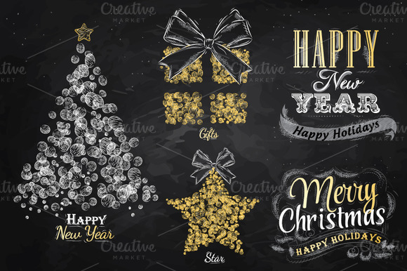 New Year Collection Of Christmas