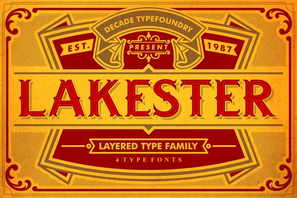 LAKESTER FONT FAMILY