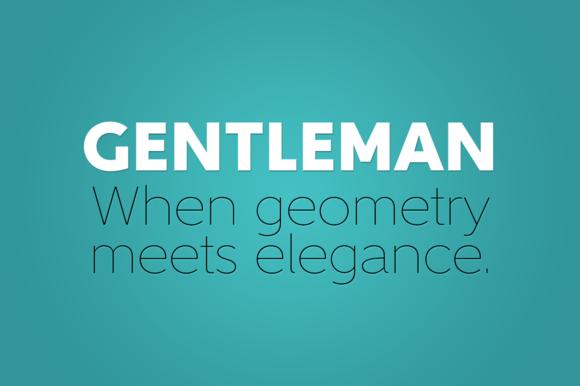 Gentleman Font Family
