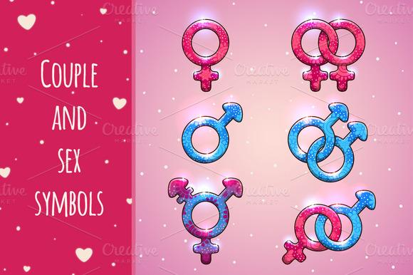 Couple And Sex Symbols