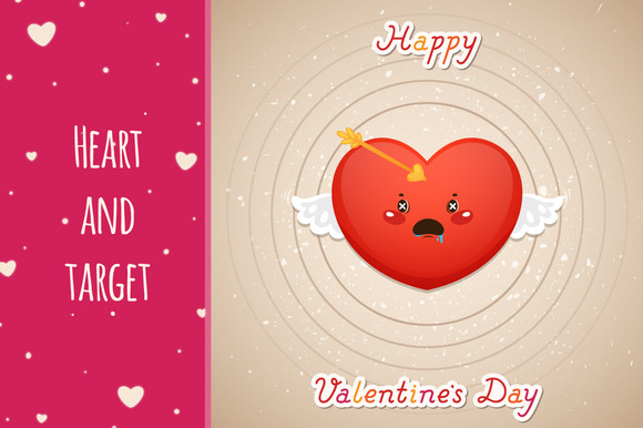 Valentines Day Heart And Target