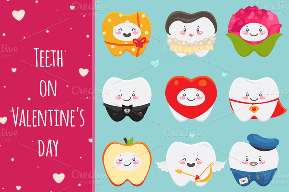 Teeth On Valentines Day