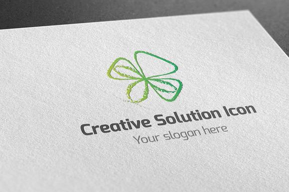 Creative Solution Icon Logo