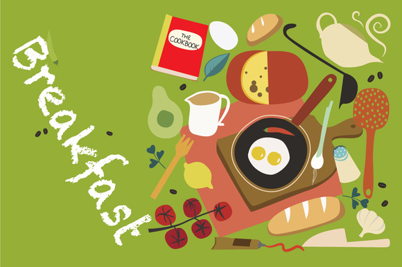Breakfast Vector Set