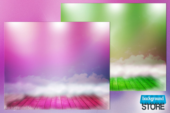 Abstract Spotlight Backdrop