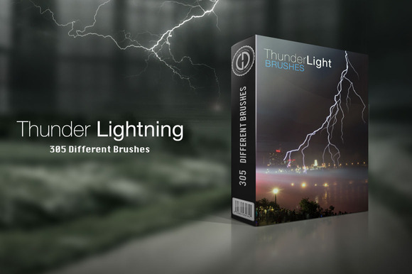 Thunder Lightning Brushes