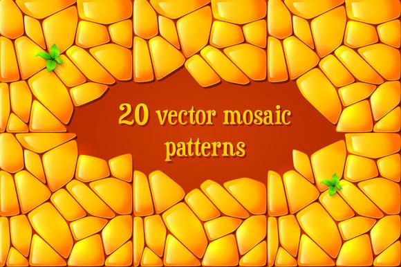 20 Vector Mosaic Patterns